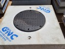 30mm Raised Class D Cast iron Storm Water Lid
